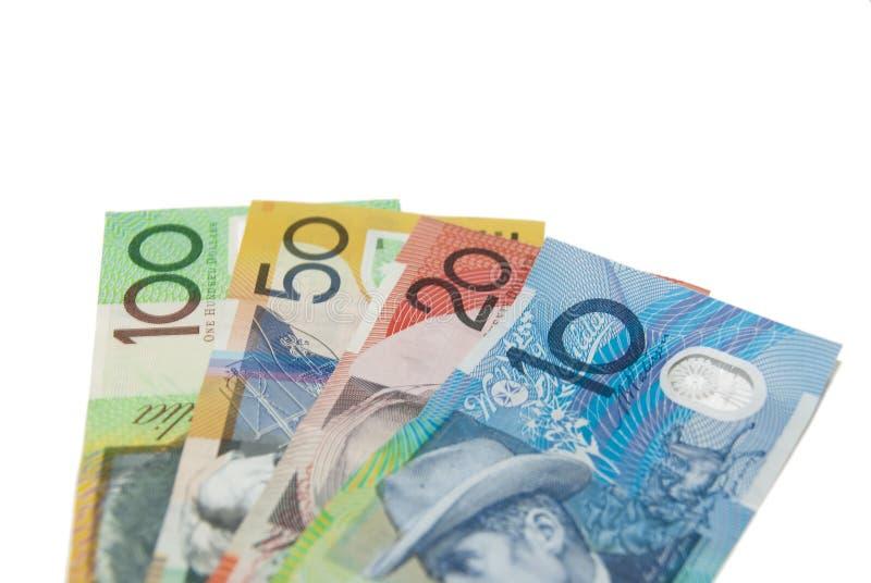 Australisches Geld lizenzfreie stockfotos