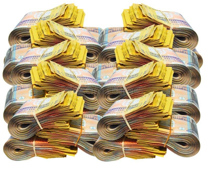 Australisches Geld lizenzfreie stockfotografie