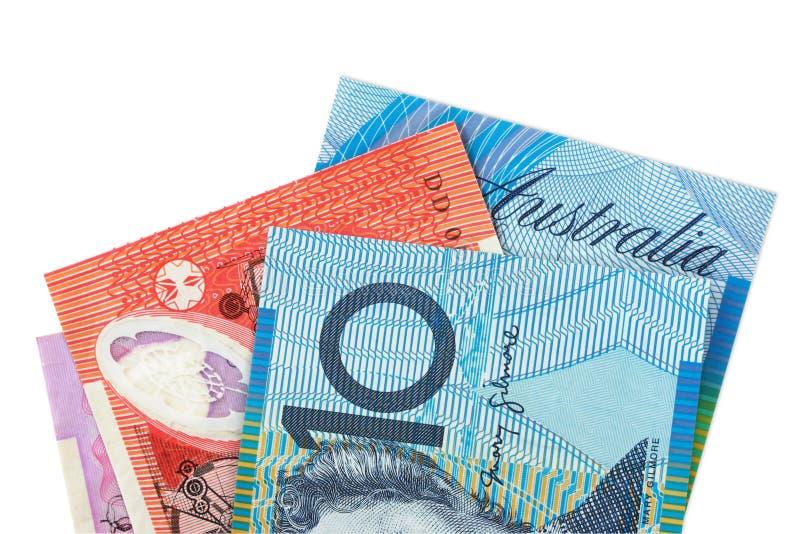 Australisches Geld lizenzfreies stockbild