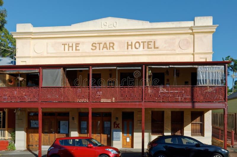 Australisches Kneipen-Hotel von den zwanziger Jahren lizenzfreies stockbild