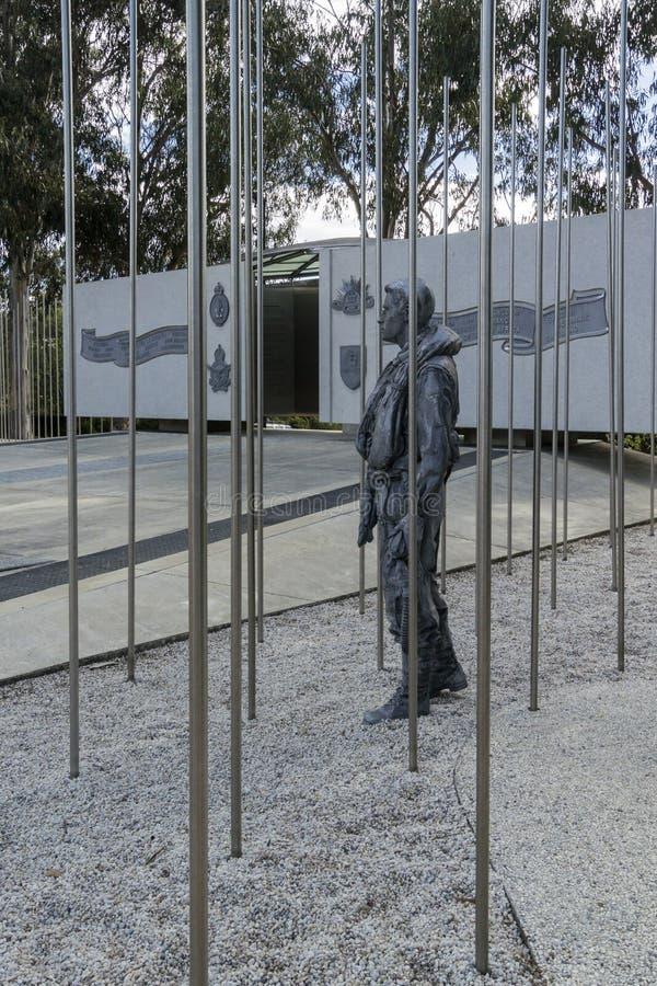 Australisches nationales Koreakrieg-Denkmal, Canberra, Australien lizenzfreies stockfoto