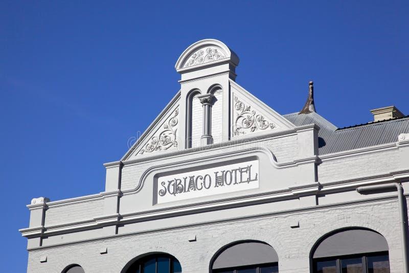 Australisk kolonial arkitektur royaltyfri foto