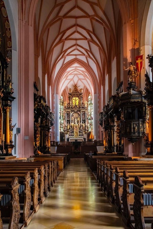 Austria - Church from Sound of Music - Salzburg. Austria stock image