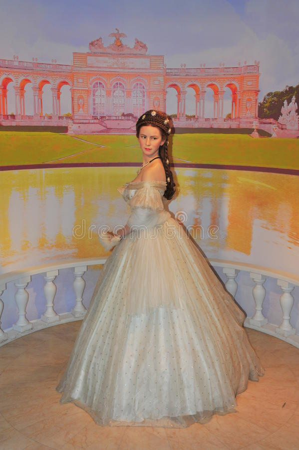 austria elisabeth imperatorowej sissi zdjęcia stock