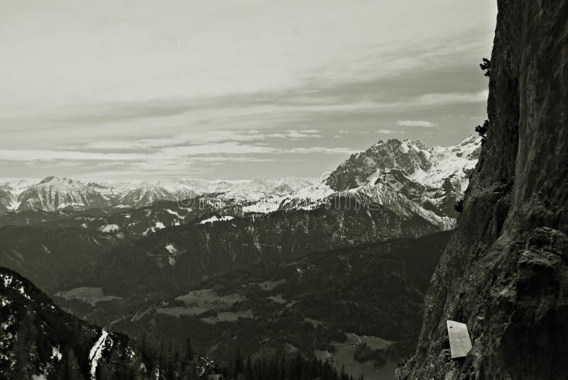 Austria, GÃ ³ ry Alpy, Rejon Salzburg obrazy stock