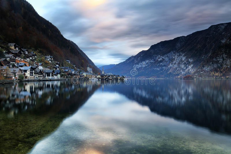 Austria: Hallstatt obraz stock