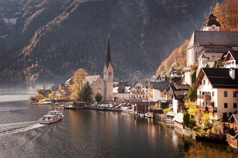 austria hallstatt obrazy stock