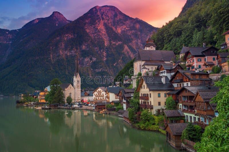 austria hallstatt zdjęcie royalty free