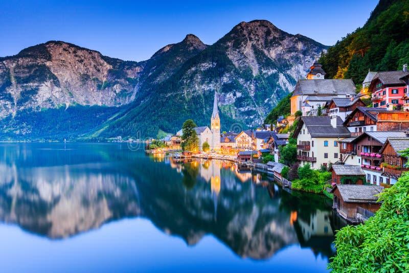 austria hallstatt zdjęcia royalty free