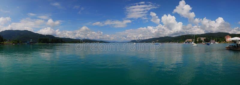 austria jezioro fotografia stock