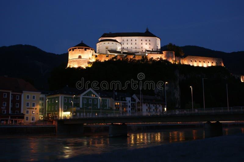 austria miasta fortecy kufstein obraz stock