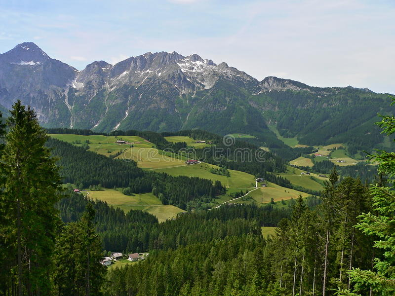 Download Austria-Outlook Of The Alps Stock Image - Image: 28803649