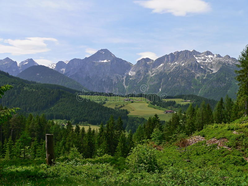 Download Austria-outlook Of The Alps Stock Photo - Image: 28803660