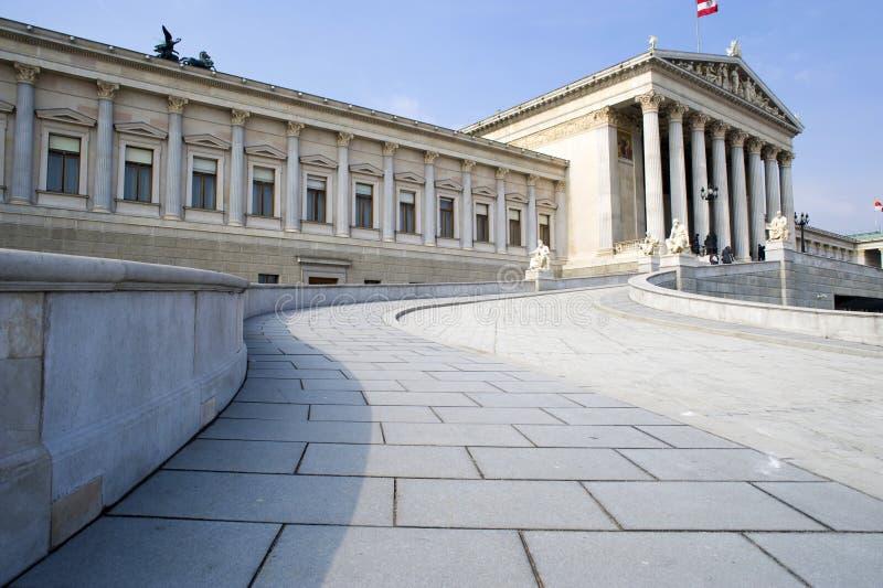 austria parlament Vienna zdjęcia royalty free