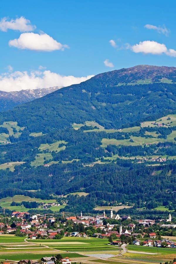 austria sala Tirol fotografia stock