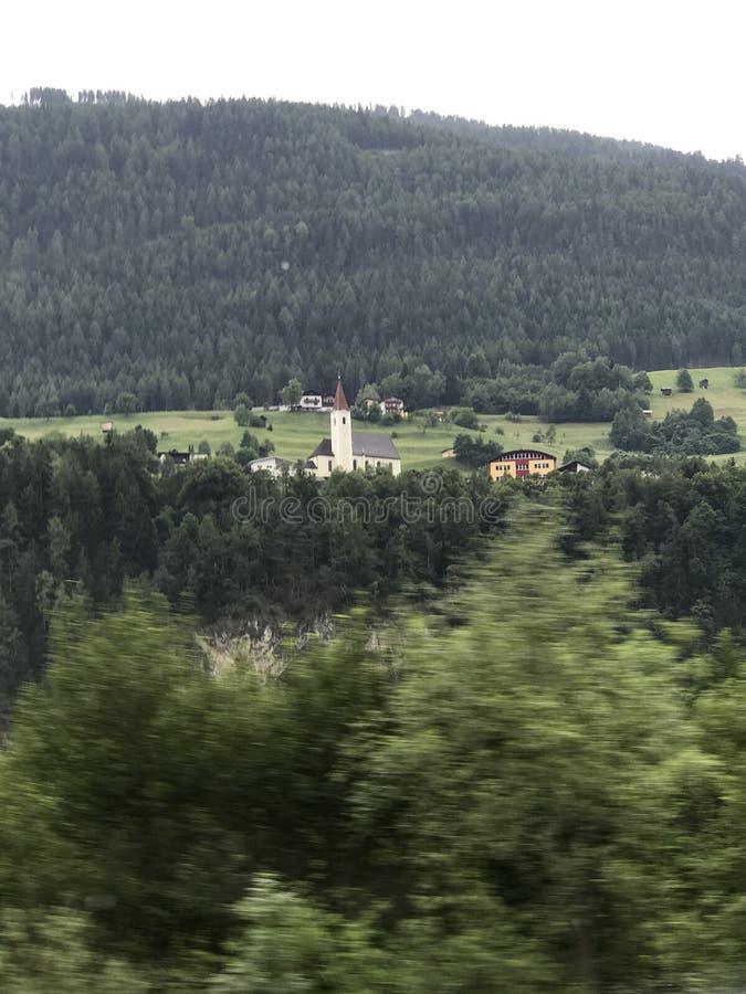Austria SEENERY HERMOSO fotografía de archivo