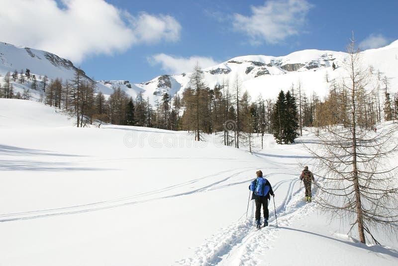 austria skitour zdjęcie stock