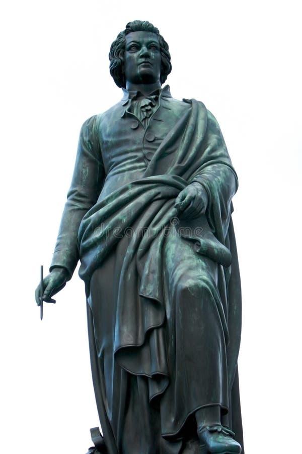 austria statua Mozart s Salzburg obrazy royalty free