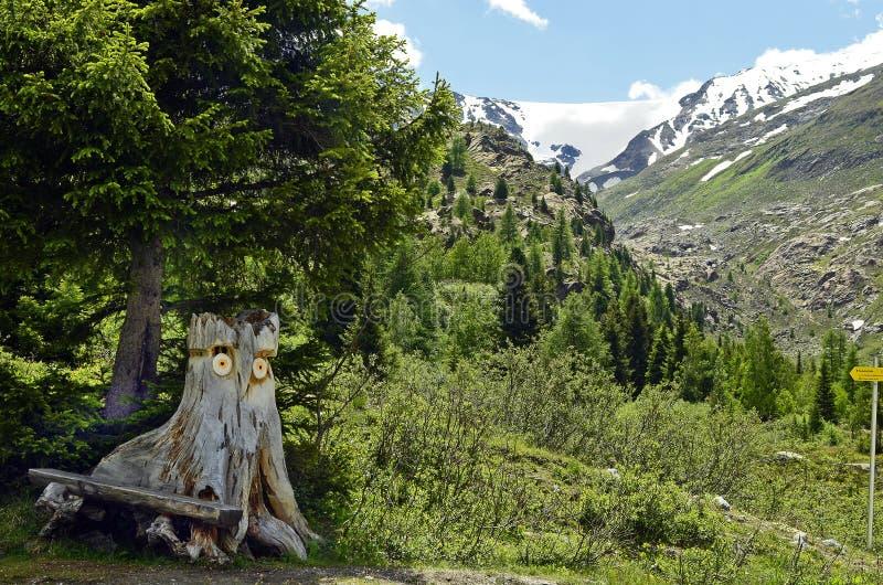 Austria, Tirol, sculpture stock image