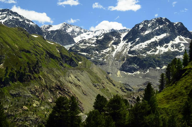 Austria, Tirol, Austrian Alps royalty free stock image