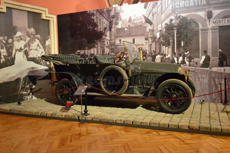 Austria Viena, museo del museo de Heeresgeschichtliches de la historia militar foto de archivo libre de regalías