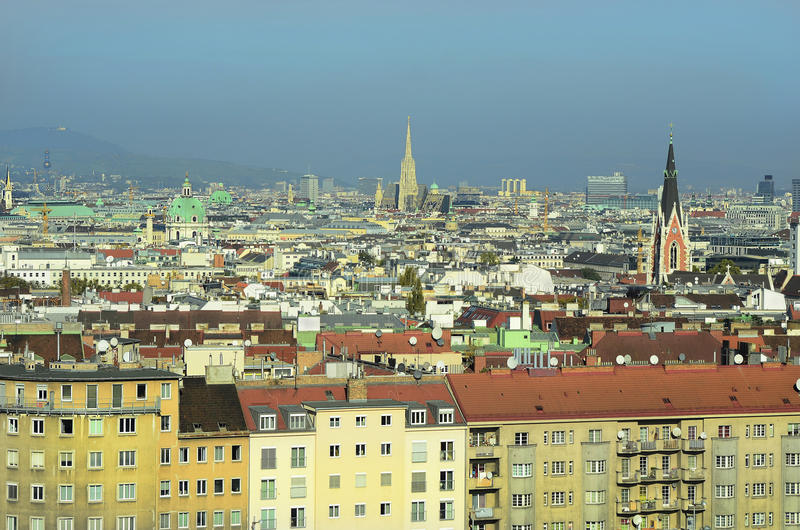 Austria, Vienna, cityscape royalty free stock photography