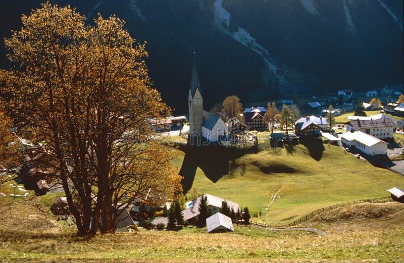austriacka wioska zdjęcia stock