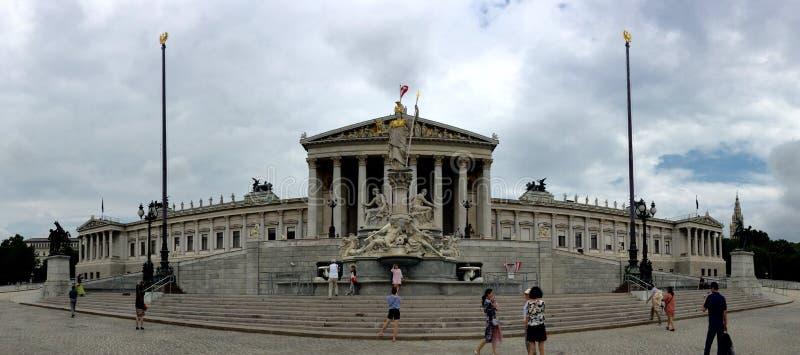 austriackie budynku parlamentu fotografia stock