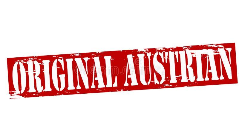 Austriaco original stock de ilustración