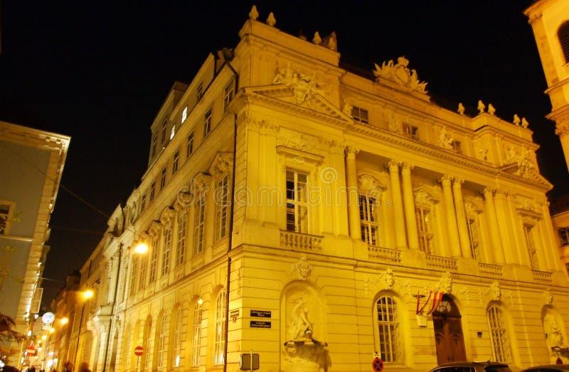 The Austrian Academy of Sciences Österreichische Akademie der Wissenschaften, Wien - Vienna, Austria.  royalty free stock photo