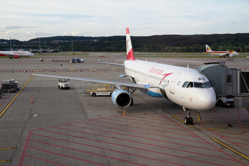 Austrian Airlines stockfotos