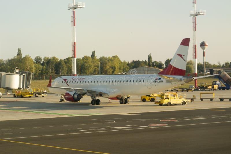 Austrian Airlines στοκ φωτογραφίες με δικαίωμα ελεύθερης χρήσης