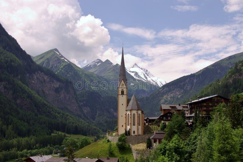 The austrian alps royalty free stock photo