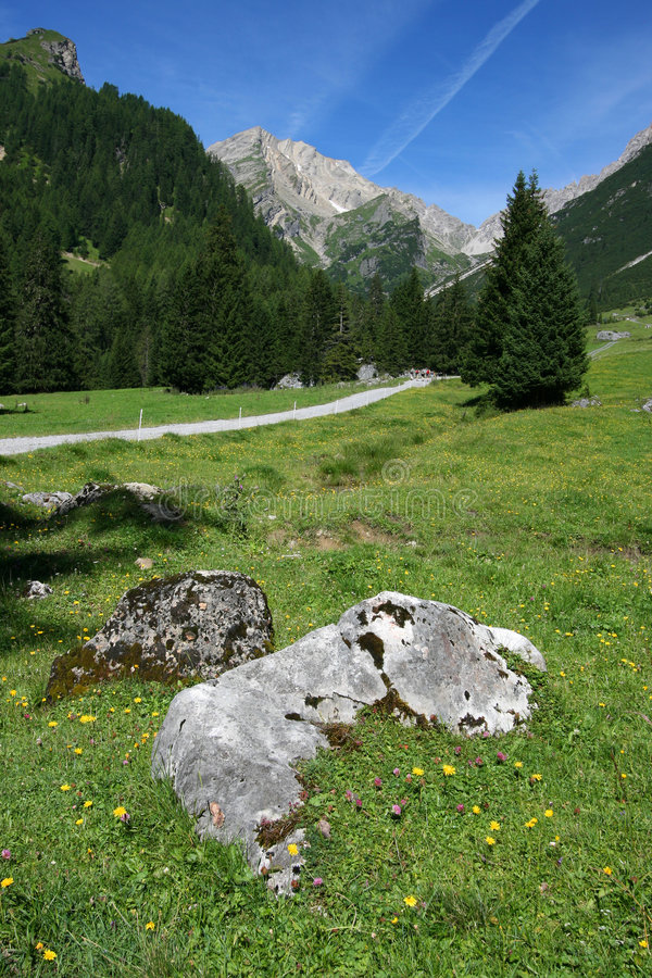 Austrian Alps royalty free stock photography