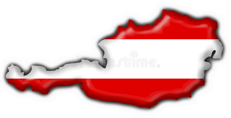Download Austrian Button Flag Map Shape Stock Illustration - Illustration of clip, nationality: 3795140