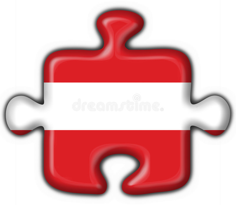Download Austrian Button Flag Puzzle Shape Stock Illustration - Illustration of country, cross: 3746319