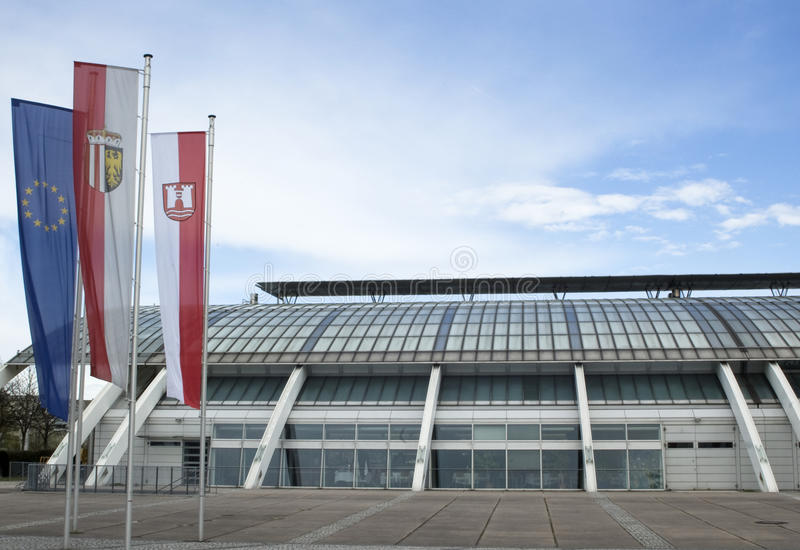 Austrian Congress Hall Royalty Free Stock Photography