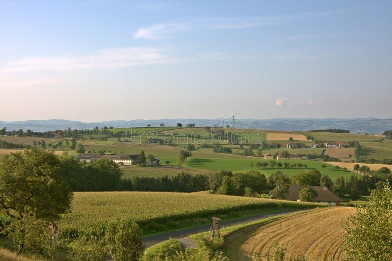 Austrian Countryside Around Strengberg Royalty Free Stock Image