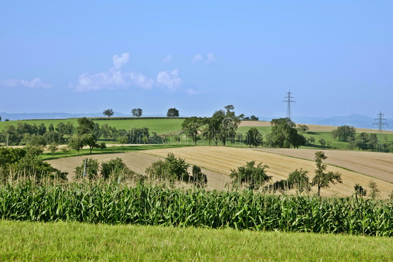 Download Austrian countryside, Haag stock image. Image of blue - 28007011