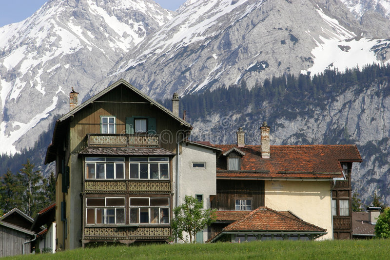Download Austrian House In Mountains Stock Photo - Image of austria, holiday: 28330