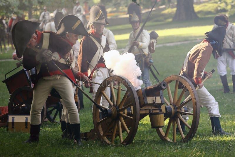 Austrian Imperial Artillery Editorial Photography