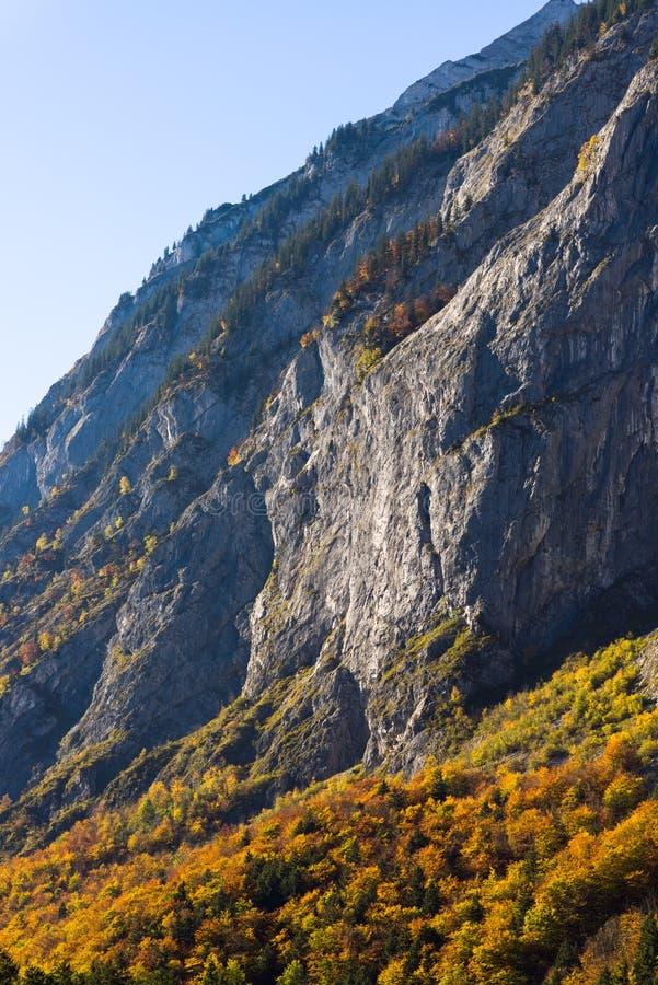 Mountains austria in autumn stock photos