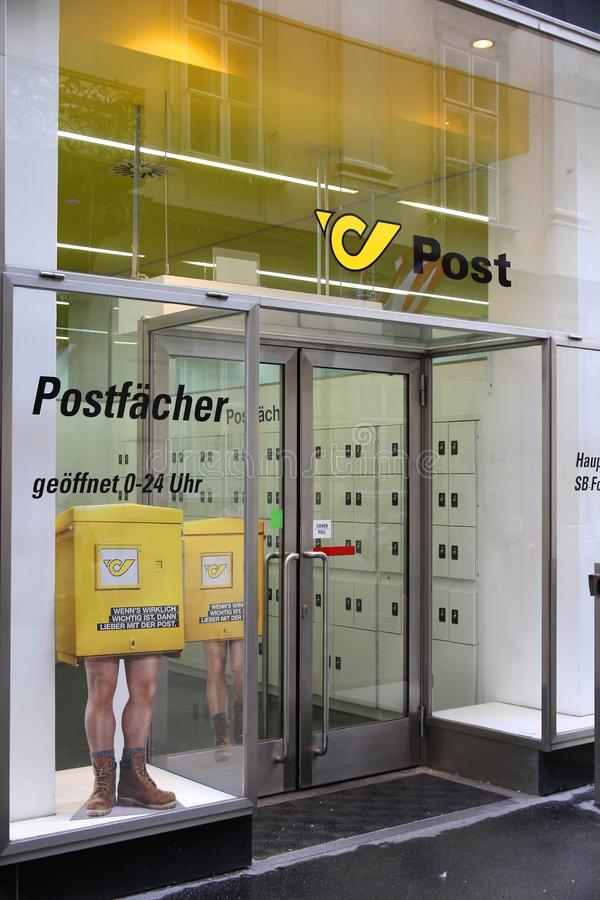 Austrian Post stock photos