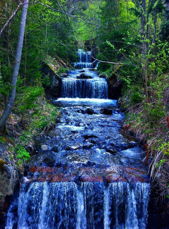 Austrian Waterfall stock photography