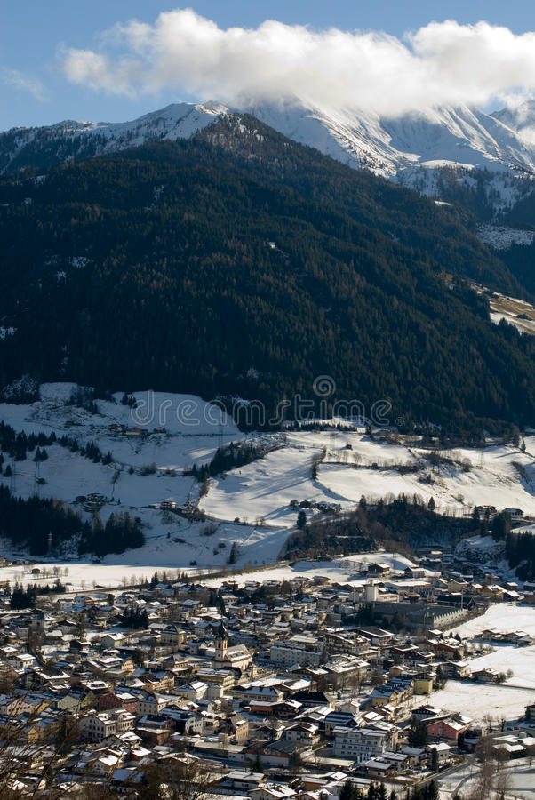 Download An Austrian Winter Scene stock photo. Image of austria - 18362662