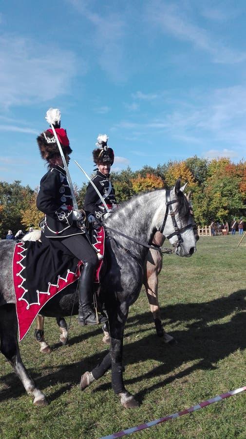 Austro-Hungaruan Cavalery стоковая фотография
