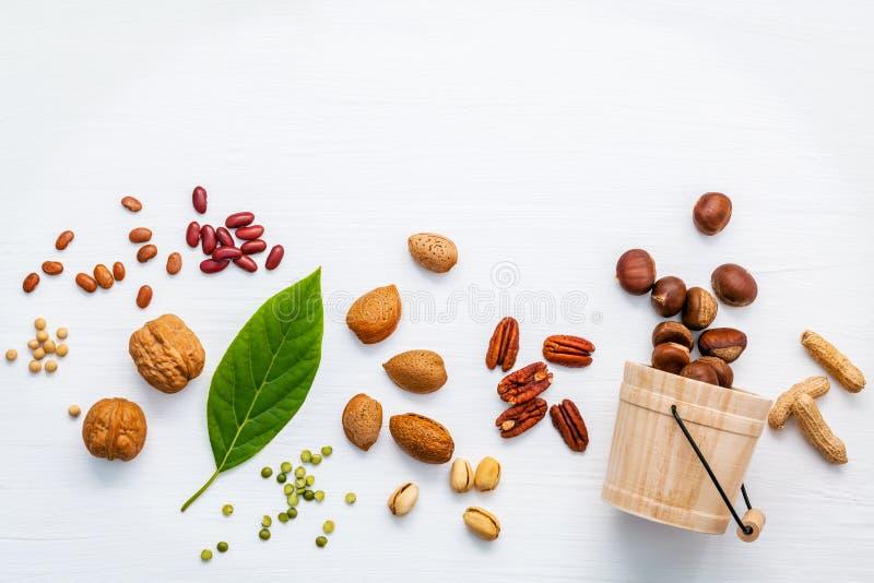 Auswahlnahrungsquellen von Omega 3 und von ungesättigten Fetten verschieden lizenzfreie stockfotos