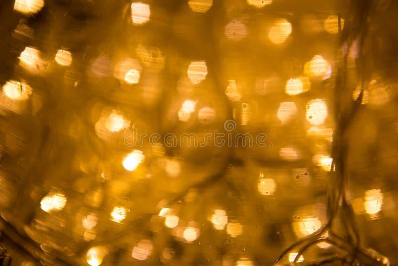 Auszug beleuchtet Hintergrund LED-Beleuchtung, bunte Girlanden, Ne lizenzfreies stockbild