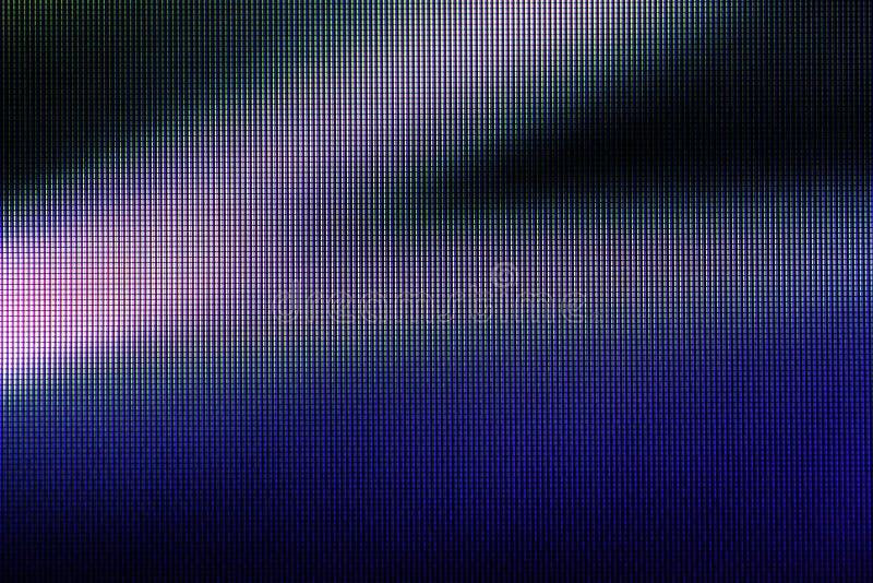Auszug führte Bildschirm, stockfoto