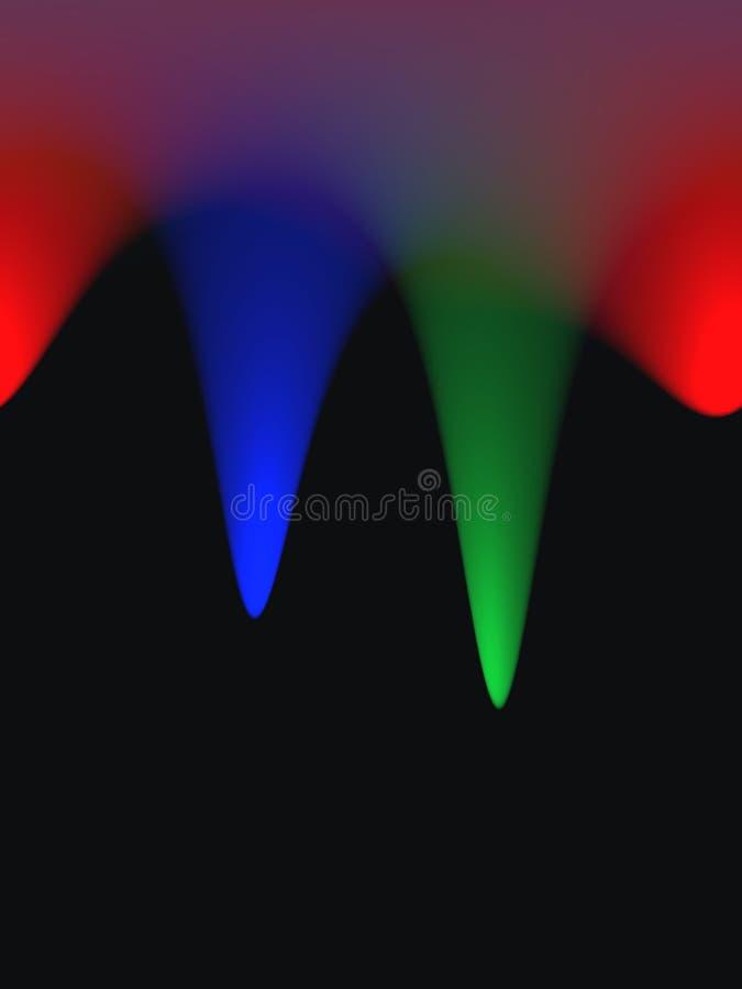 Auszug farbiger Hintergrund vektor abbildung